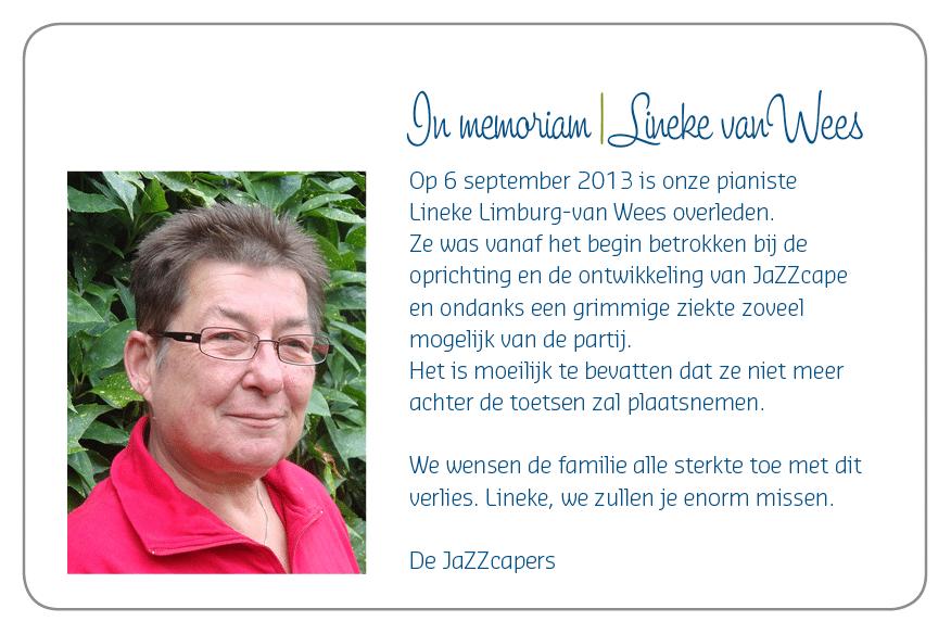 In Memoriam Lineke