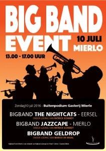 bigband event 10 juli 2016